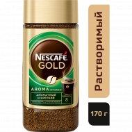 Кофе растворимый «Nescafe Gold Aroma» с добавлением молотого, 170 г.