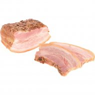 Продукт из свинины «Грудинка Баварская» копчено-вареный, 1 кг., фасовка 0.35-0.45 кг