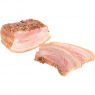 Продукт из свинины «Грудинка Баварская» копчено-вареный, 1 кг., фасовка 0.55-0.65 кг
