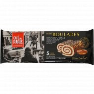 Мини рулеты бисквитные «Cafe De Paris» со вкусом сгущенки, 140 г.