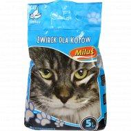 Наполнитель «Milus» Стандарт для кошачьего туалета, 5 л.