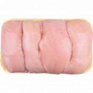 Филе цыплёнка-бройлера замороженное, Халяль, 1 кг., фасовка 0.9-1.3 кг