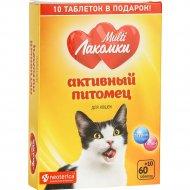Кормовая добавка для кошек «МультиЛакомки» Активный питомец, 70 шт.