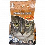 Наполнитель «Milus» Премиум для кошачьего туалета, 5 л.