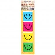 Закладки магнитные «Darvish» улыбка.