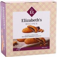Печенье «Рецепты Элизабет» с миндалем и шоколадной начинкой, 300 г.