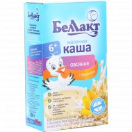Каша овсяная, молочная «Беллакт» с бананом, 200 г.