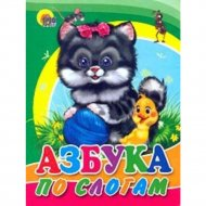 Книга «Азбука по слогам».