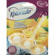 Туалетный брусок «Kolorado» Roll' Aroma Кристальный лимон, 51 г.