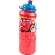 Бутылка для питья «Тачки» детская, 12601501, 530 мл.