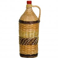 Бутылка «Виноград» оплетенная прутьями лозы, 2 л.