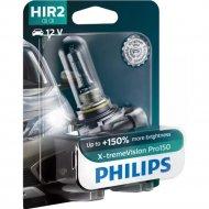 Автолампа «Philips» HIR2 X-treme Vision Pro150, 9012XVPB1