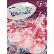 Туалетный брусок «Kolorado» Roll' Aroma Экзотические цветы, 51 г.