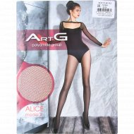 Колготки женские «ArtG» Alice, 40 den, размер 2, nero.