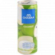 Напиток кокосовый «Chabaa» с мякотью, 230 мл.