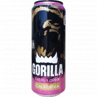 Напиток энергетический «Gorilla» california 0.45 л.