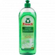 Средство для мытья посуды «Frosch» зеленый лимон, 1 л.