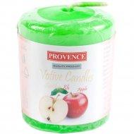 Свеча ароматизированная «Яблоко» 5х4 см.