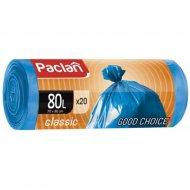 Мешки для мусора «Paclan» Classic 80 л, 20 шт.