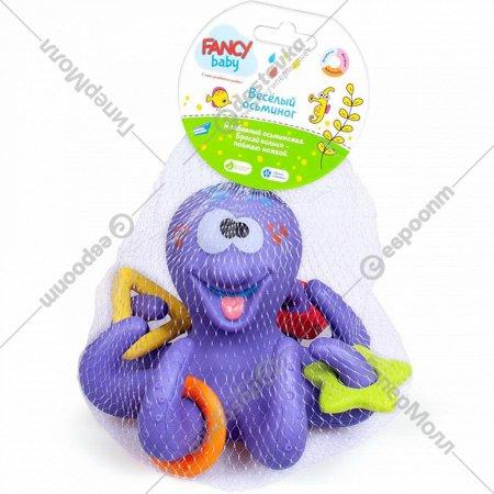 Игрушка для ванны «Fancy Baby» Осьминог, BATH4