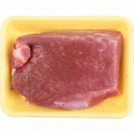 Тазобедренная часть говяжья, замороженная, Халяль, 1 кг., фасовка 0.6-0.7 кг