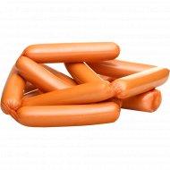 Сосиски мясные «Троицкие» высший сорт, 1 кг., фасовка 0.6-0.85 кг