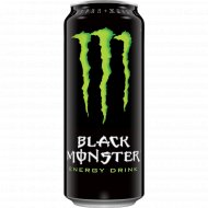 Напиток энергетический «Black monster» 0.5 л.