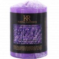 Свеча пеньковая «Kukina Raffinata» горная лаванда, 5.6х8 см