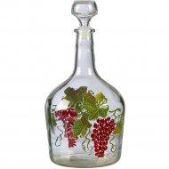 Бутылка «Фуфырь» с пробкой, 3 л.