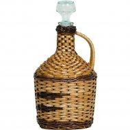 Бутылка «Фуфырь» оплетенная прутьями лозы, 3 л.