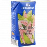 Напиток «Chabaa» с соком розовой гуавы, 180 мл.