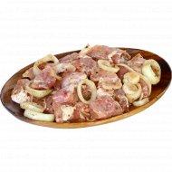 Шашлык «Все готово!» особый, в луковом маринаде, 1 кг., фасовка 0.9-1.1 кг