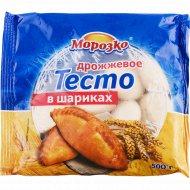 Тесто дрожжевое «Морозко» в шариках, замороженное, 500 г.