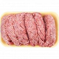 Фарш мясной «Говяжий люкс» замороженный, Халяль, 1 кг., фасовка 0.5-0.8 кг
