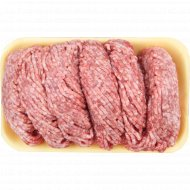 Фарш мясной «Говяжий люкс» замороженный, Халяль, 1 кг., фасовка 0.5-0.7 кг