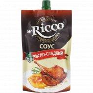 Соус «Mr. Ricco» кисло-сладкий, 210 г.