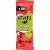 Батончик фруктово-ореховый «Be OK» фрукты микс, 30 г.