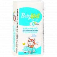 Крем-мыло «Baby Likes» soft care, 0+, с козьим молоком, 5x60 г.