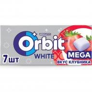 Жевательная резинка «Orbit» Mega, клубника, 16.4 г.