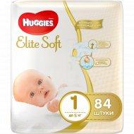 Подгузники «Huggies» Elite Soft, размер 1, 0-5 кг, 84 шт.