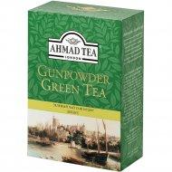 Чай зеленый листовой «Ahmad» Ганпаудер, 100 г.