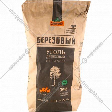 Древесный уголь «Березовый» 3 кг.
