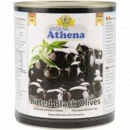Оливки черные «Athena» без косточки, 3.1 кг.