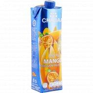 Сок «Chabaa» манго-маракуйя-виноград, 1 л.