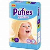Подгузники для детей «Pufies» Sensitive Maxi 74.