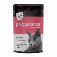 Корм «ProBalance» для активных кошек, 85 г.