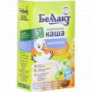 Каша пшеничная безмолочная «Беллакт» яблоко- абрикос 200 г.
