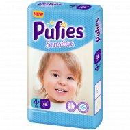 Подгузники для детей «Pufies» Sensitive Maxi+ 68.