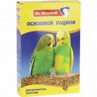 Корм «Dr.Hvostof» для волнистых попугаев, 500 г.