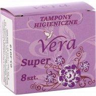 Тампоны «Vera» Super, 8 шт.